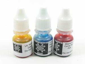 Mayhem's dyes