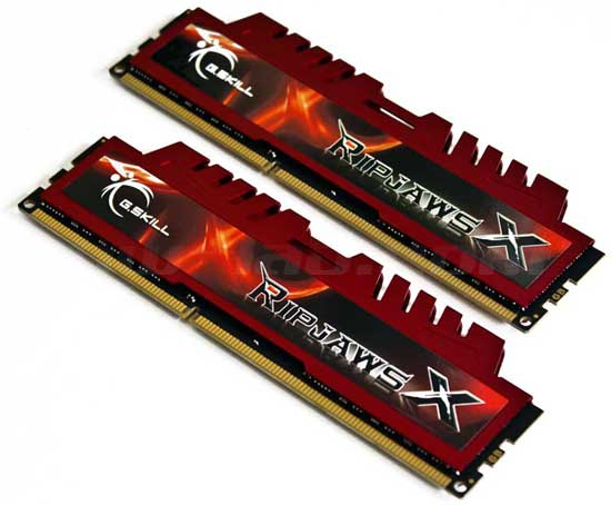 G.SKILL Ripjaws 1600MHz DDR3 CL9 8 GB