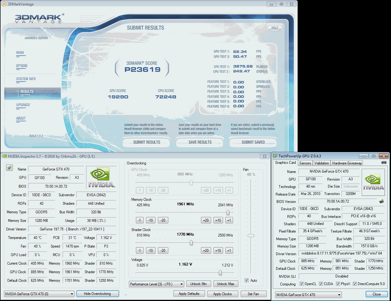 GeForce GTX 470 — detailed view   Page 7   HWlab