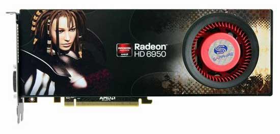 Разблокирование RADEON HD 6950 2GB — протестировано