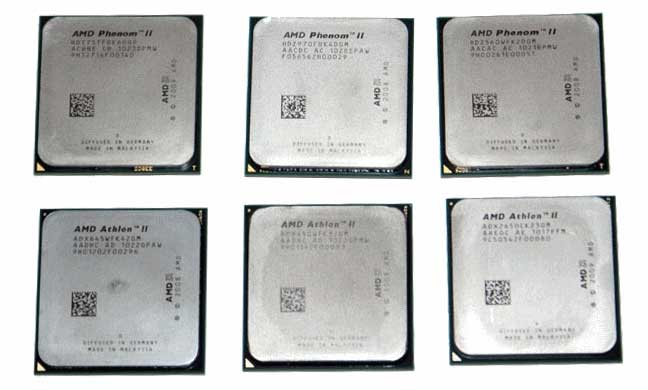 Six new processor models from AMD | HWlab