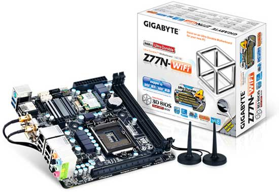 GIGABYTE 7 Series Mini-ITX motherboard