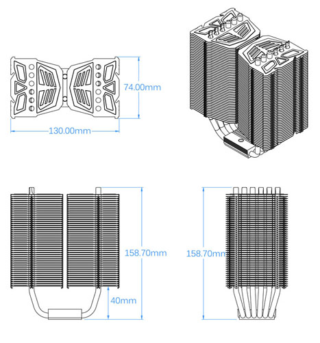 Prolimatech detailed dimensions