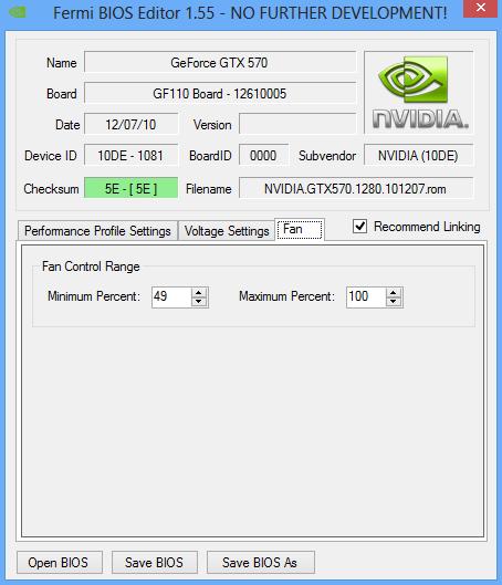 NiBiTor — редактируем биос не поддерживаемых видеокарт Fermi