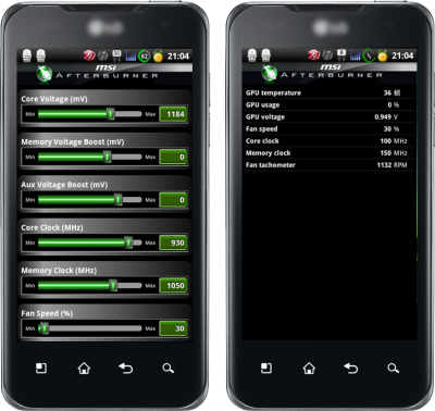 MSI Afterburner for Android
